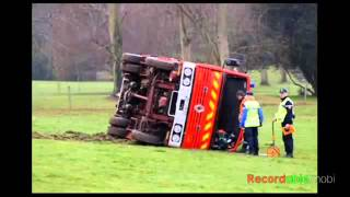 Accidents de camion de pompier (images)