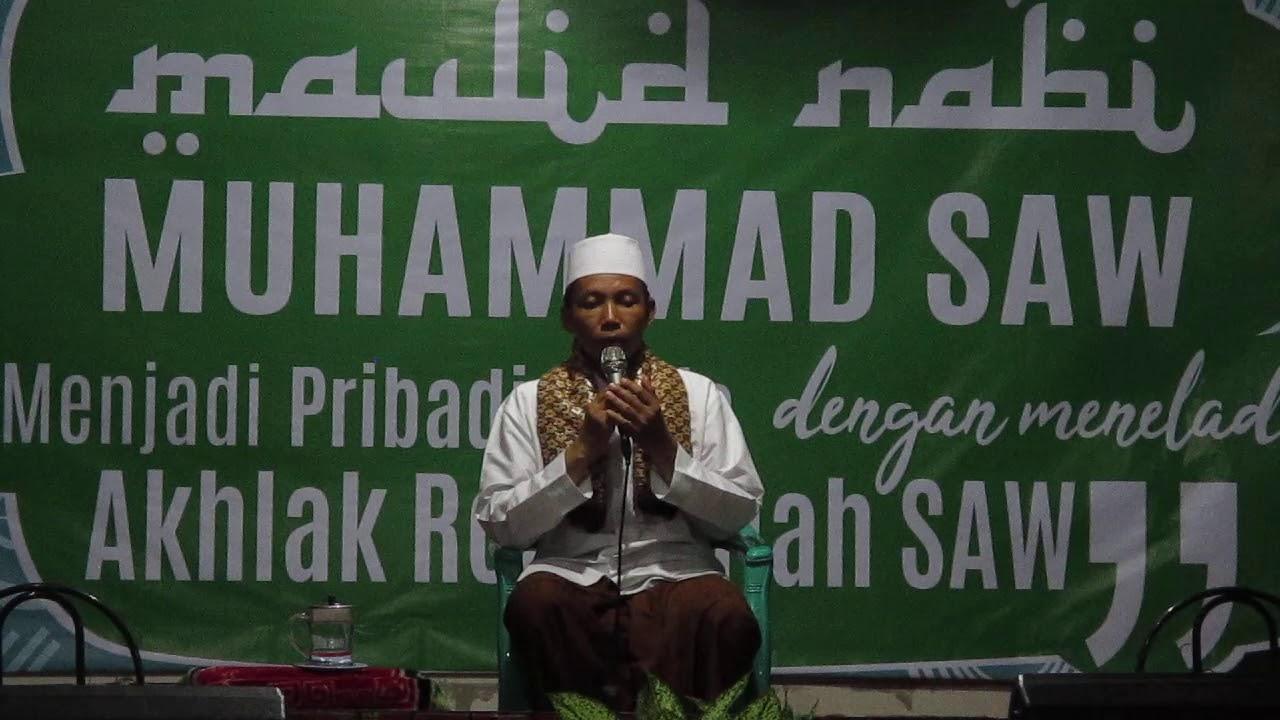 kH Ahmad Sayuti - pembacaan Doa dalam Peringatan Maulid ...