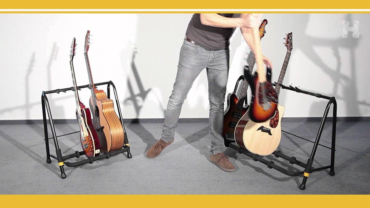 hercules guitar rack youtube. Black Bedroom Furniture Sets. Home Design Ideas