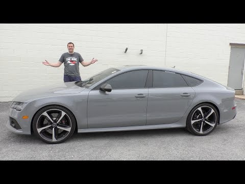 A Used Audi RS7 Is a Half-Price Used Car Bargain