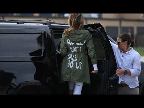 #MelaniaGate: Wenn eine Jacken-Botschaft zum Politikum wird