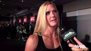 UFC 193: Holly Holm Likes That People Are Still Doubting Her
