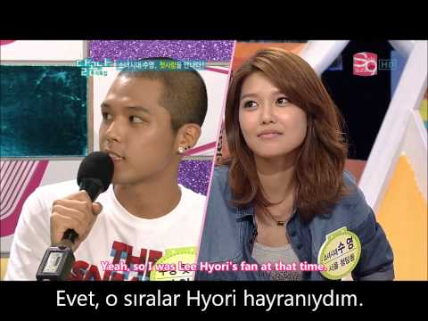 Sooyoung's first love