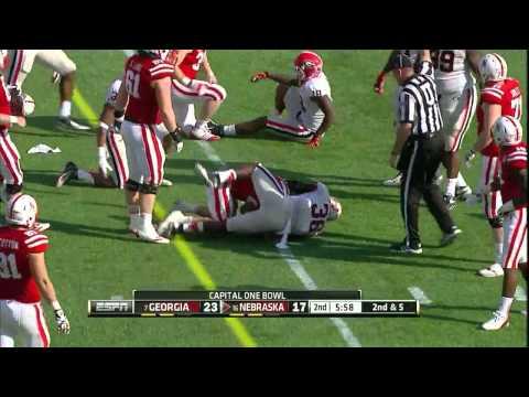 """Shawn Williams vs Nebraska """" 2013 Capital One Bowl"""""""