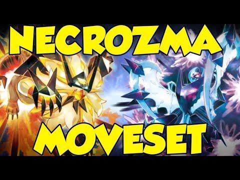 How To Use Dusk Mane Necrozma & Dawn Wings Necrozma! Necrozma Moveset Guide