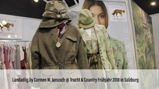 """""""Landadlig"""" von Carmen W. Janusch  @ Tracht & Country Frühjahr 2018, Messe Salzburg (02.-04.03.2018)"""