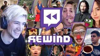 xQc Reacts to Twitch Rewind 2019