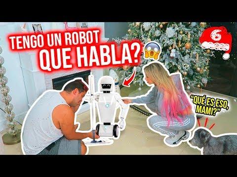 LES PRESENTO A MI ROBOT QUE LIMPIA LA CASA!!! 🤩 VLOGMAS 6🎄 06 Dic 2019