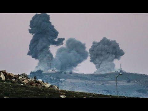 RAW NATO ISLAMIC Turkey Bombs USA Troops & USA Kurds Afrin Syria Breaking News January 20 2018