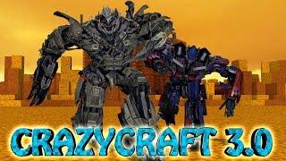 "Minecraft | Crazy Craft 3.0 - Ep 10! ""TRANSFORMING BEGINS"""