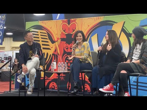 Katrina Law, Holly Marie Combs, Courtney Ford At Wizard World Oakland Panel