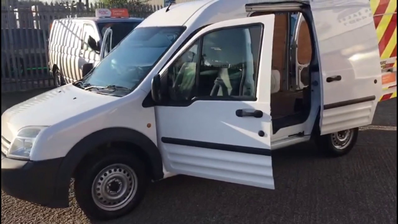 48cd153539 Ford Transit Connect with LWB and High roof in white for sale   Simply Van  Sales
