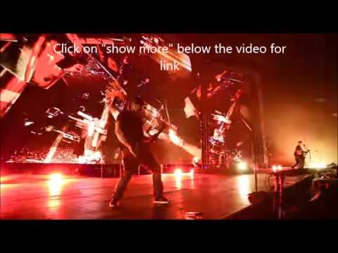 "Metallica debut Hardwirde ""live' collage video form around the world, on tour...!"
