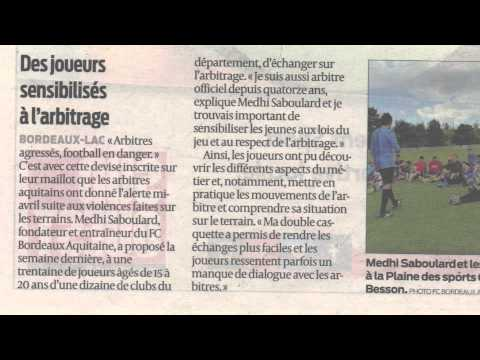 FC Bordeaux Aquitaine interview radio ARL 2015