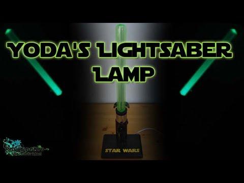 How To Make Yodau0027s Lightsaber Lamp