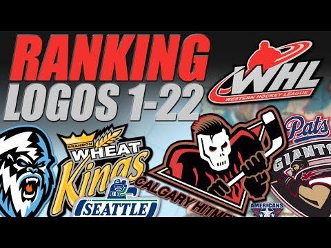 WHL Logos Ranked 1-22