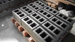 Как изготовить стеновые блоки частному застройщику