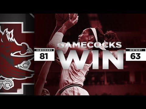 HIGHLIGHTS: Women's Basketball vs. Kentucky — 2/18/18