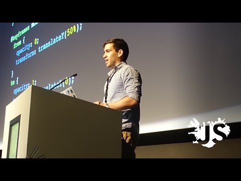 David Khourshid: Reactive Animations with CSS Variables - JSConf Iceland 2016