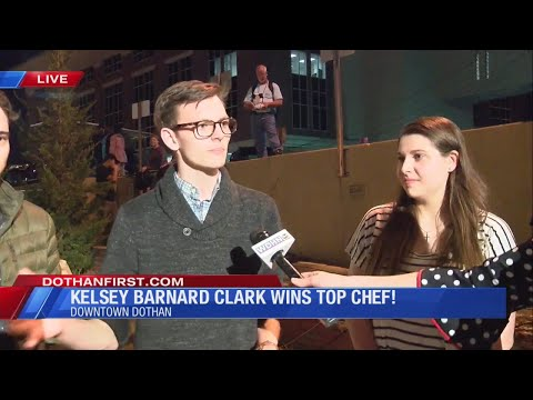 Rob and Hilary - Highs & lows - Dothan chef is crowned Top Chef!