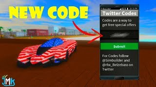 (Limited Time🎆 🇺🇸) ROBLOX VEHICLE SIMULATOR NEW CODE 2018 FOR A SPECIAL MATERIAL
