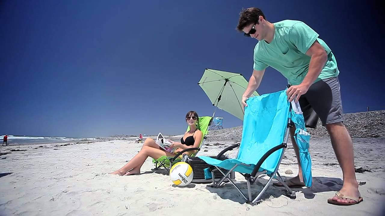 Super Brella Chair Blooma Garden Covers Sport Beach Introduction Youtube