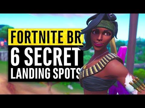 Fortnite | 6 Secret Landing Locations for Safe Easy Wins (Season 8) thumbnail