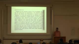 Biologické čtvrtky ve Viničné; F. Bokma: Why do species not adapt but go extinct, přednáška I.