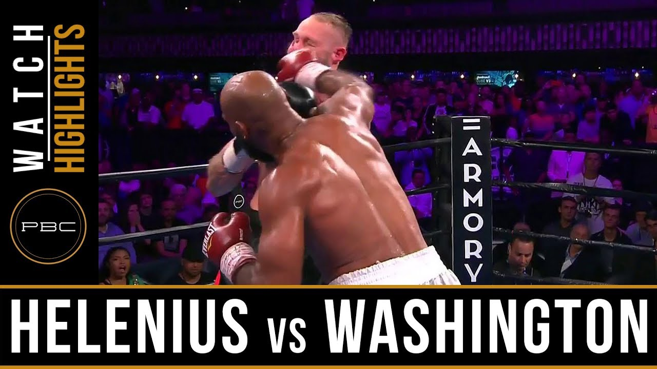 Helenius vs Washington HIGHLIGHTS: July 13, 2019 - PBC on FS1