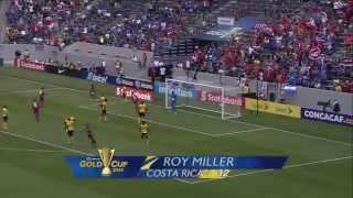 Costa Rica 2 Jamaica 2 Gold Cup 2015 / Group B