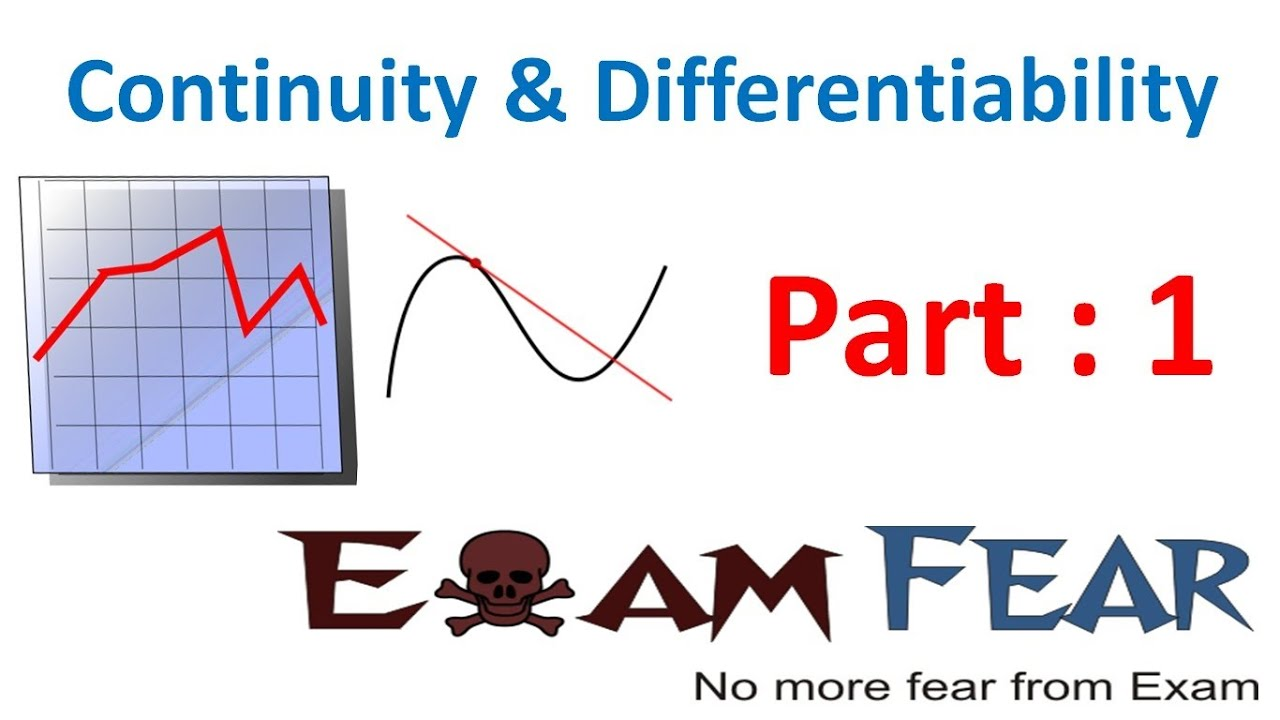 Maths Continuity & Differentiability part 1 (Calculus Introduction) CBSE  Mathematics XII 12