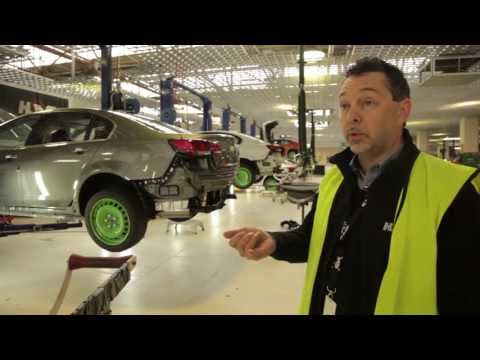 The Production Process of the HSV GEN-F GTS