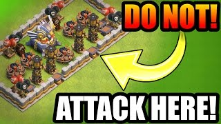 WHY DOES EVERYONE DO THIS IN CLASH OF CLANS!?