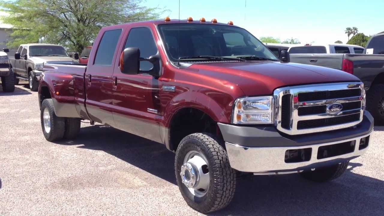2006 ford f350 diesel dually 4x4 wheel kinetics youtube