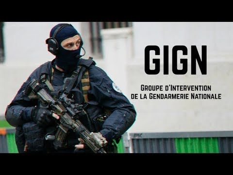 GIGN • Groupe d'Intervention de la Gendarmerie Nationale
