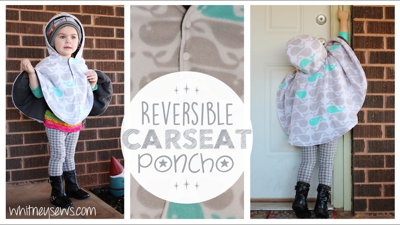 Reversible Car Seat Poncho How To