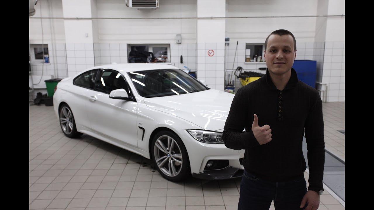Обзор BMW 4 F32