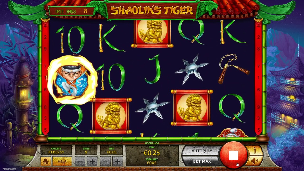 Shaolin's Tiger Slot Play Free ▷ RTP 96.4% & Low Volatility video preview