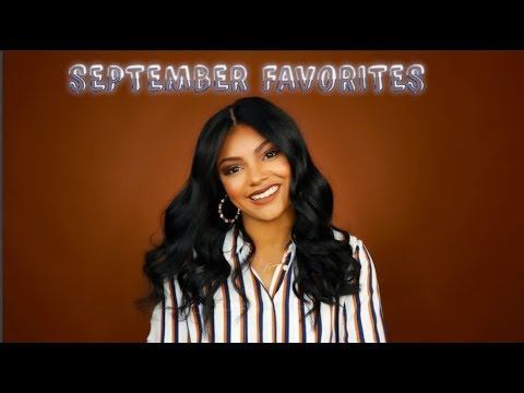 September Favorites + GIVEAWAY WINNER ANNOUNCED