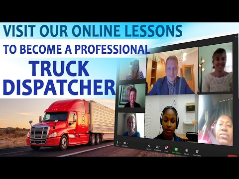 Truck Dispatcher Live Training How To Become A Truck Dispatcher Solution