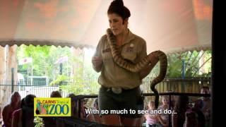 Cairns Tropical Zoo TVC - Snake Show