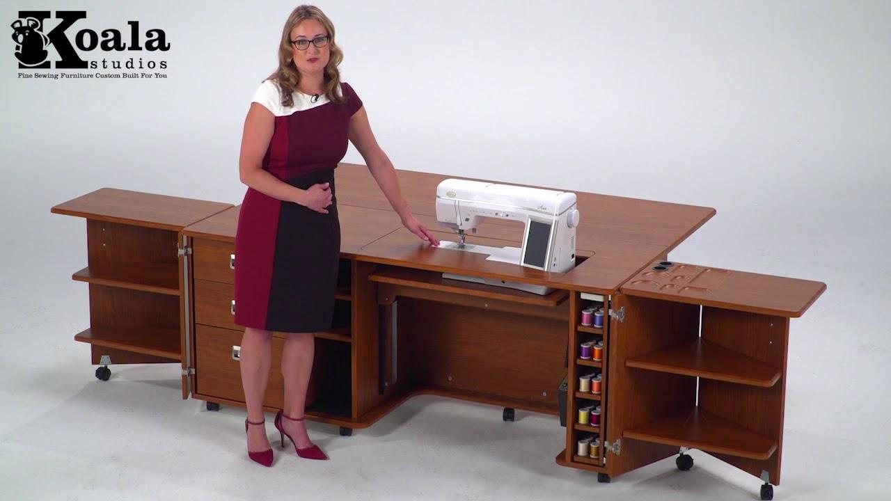 Koala Studios Custom Inserts  Custom Sewing Cabinets  YouTube
