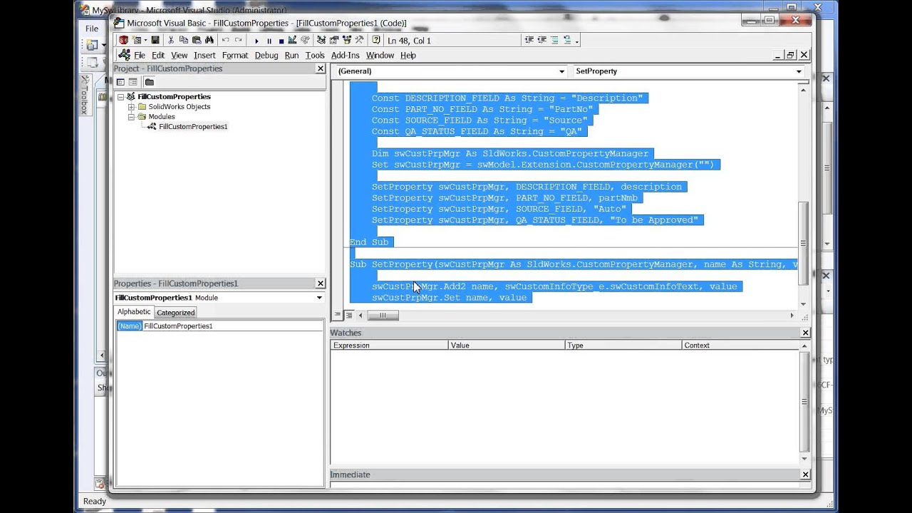 how to make a vba function