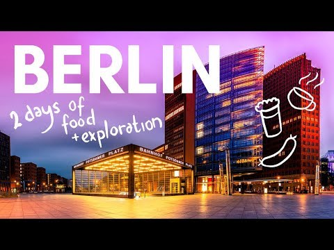 2 DAYS In BERLIN! Food, Museums, Food, Beer And Food!