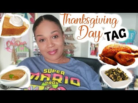 THANKSGIVING DAY TAG!!!  THIS OR THAT