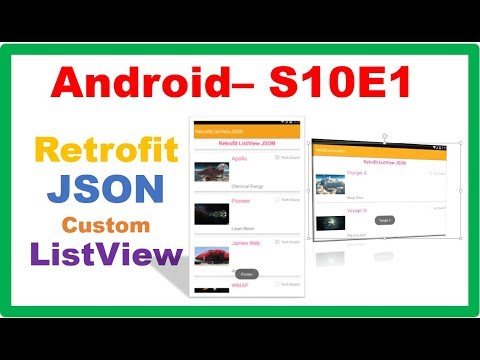 Android Retrofit → Android Retrofit – JSON ListView Images