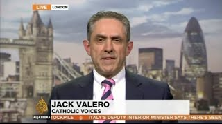 Jack Valero on Aljazeera News on the UN Report on the Vatican