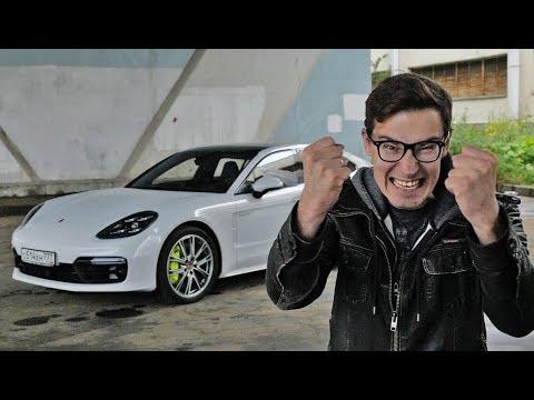Мир не будет прежним! Первый тест-драйв и обзор Porsche Panamera Turbo S E-Hybrid