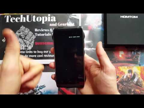 Homtom HT20 features/off screen gestures/system motion/wake up/telephony/Cooler OS preview