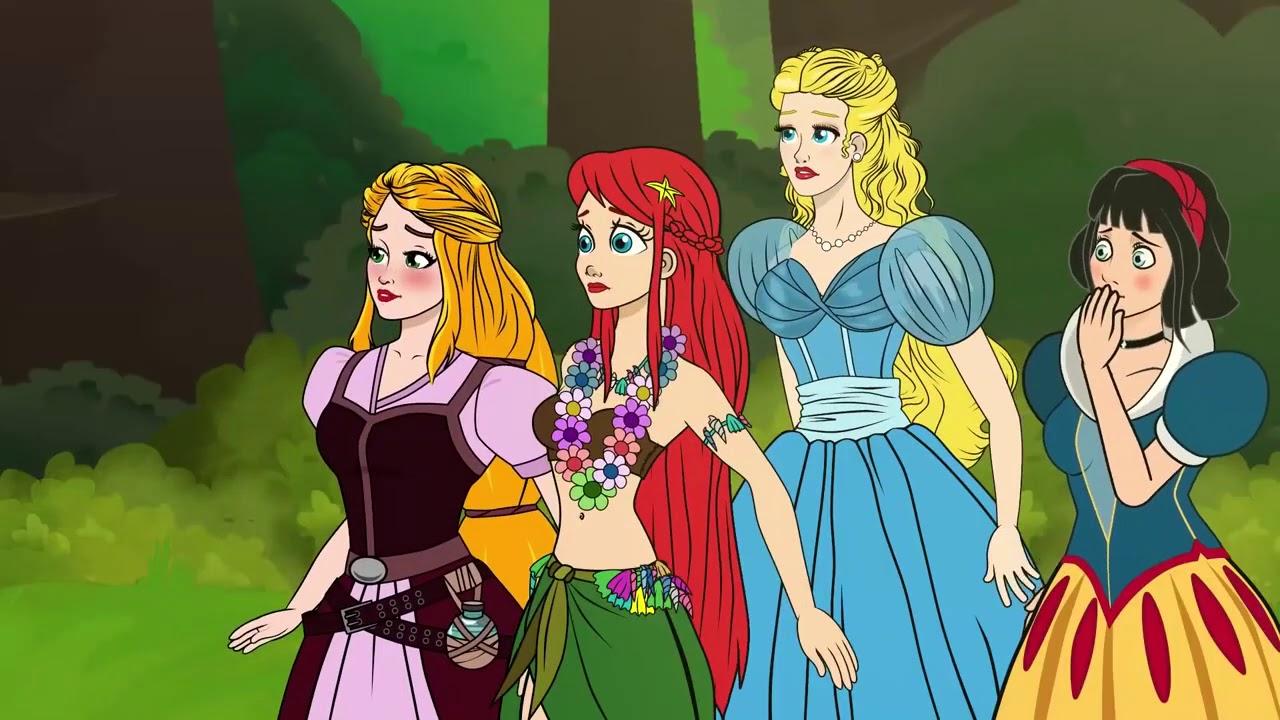 Download New Adventures Of Rapunzel   Episode 5 - 6   Princess Stories & Fairy Tales